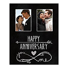 image of Anniversary You and Me Canvas Wall Art