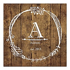 Image Of Monogram Mania Canvas Wall Art