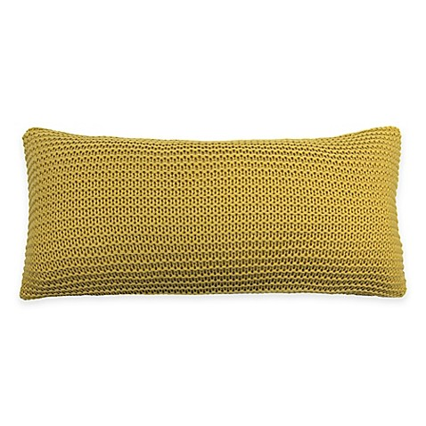 Yellow Decorative Pillows For Bed : Glaser Oblong Throw Pillow in Yellow - Bed Bath & Beyond