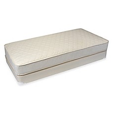 image of Naturepedic Quilted Deluxe 1-Sided Twin Mattress