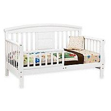 image of DaVinci Elizabeth II Convertible Toddler Bed in White
