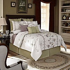 image of Downton Abbey® Crawley Comforter Set in Cream