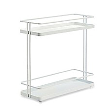image of .ORG 2-Tier Cabinet Organizer in White