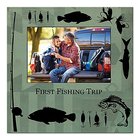 First Fishing Trip Digitally Printed Canvas Wall Art