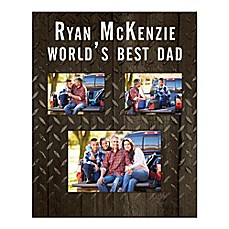 image of World's Best Dad Canvas Wall Art