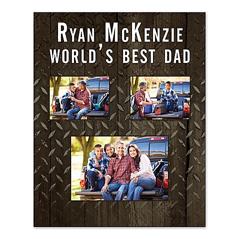 Buy world 39 s best dad canvas wall art from bed bath beyond for Best place to buy canvas prints