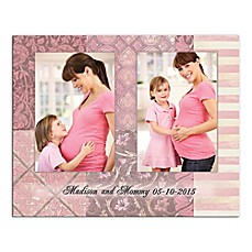 image of Mother Panels Canvas Wall Art in Pink