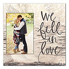 image of We Fell in Love Canvas Wall Art