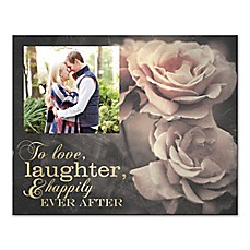 image of Love, Laughter, Happily Ever After Canvas Wall Art