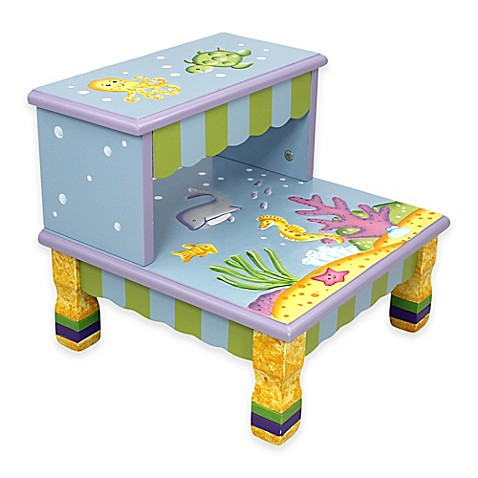 Buy Teamson Fantasy Fields Under The Sea Kids Step Stool