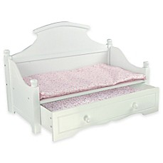Olivia S Little World Princess Bedding Modern Chevron Wooden 18 Inch Doll Furniture