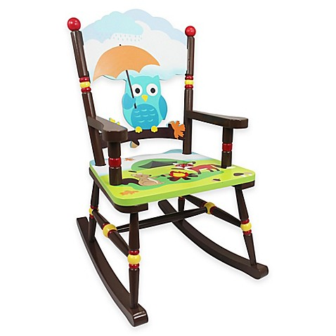 teamson fields enchanted woodland rocking chair bed bath beyond