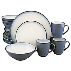 image of Sango® Concepts 16-Piece Dinnerware Set in Eggplant