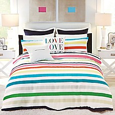 image of kate spade new york Candy Stripe Comforter Set