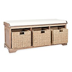 image of happimess by safavieh lonan storage bench