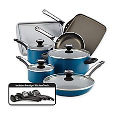 image of Farberware® High Performance Nonstick Aluminum 17-Piece Cookware Set