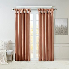 image of Madison Park Emilia Twist Tab Window Curtain Panel and Valance