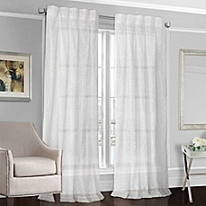 image of Designers' Select™ Peyton Back Tab Sheer Window Curtain Panel