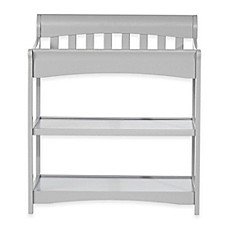 image of child craft coventry changing table in cool grey