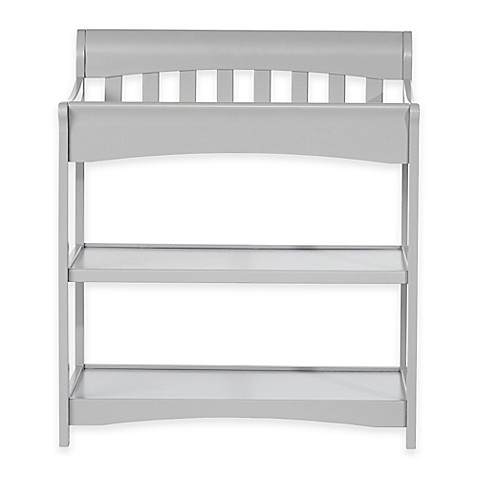 Child craft coventry changing table in cool grey bed for Child craft changing table