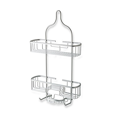 totally bath extra wide and extra long shower caddy in
