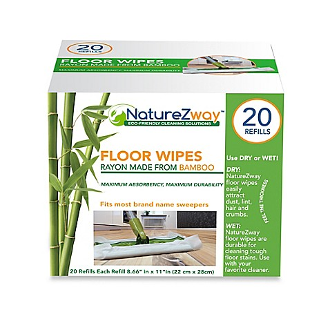 Naturezway 20 Pack Floor Wipes Bed Bath Amp Beyond