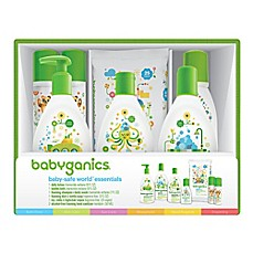 image of Babyganics® Baby-Safe World™ Essentials Gift Set