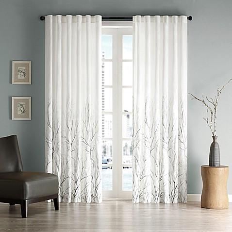 Curtains Ideas curtains madison wi : Madison Park Andora Rod Pocket/Back Tab Lined Window Curtain Panel ...