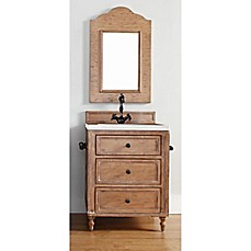 Image Of James Martin Furniture Copper Cove 26 Inch Single Vanity With  Stone Top