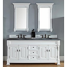 Image Of James Martin Furniture Brookfield 72 Inch Double Vanity With Stone  Top In Cottage