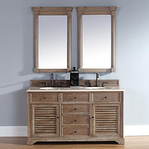 Buy Savannah 59 5 Inch Driftwood Vanity Cabinet With Drawers Without Countertop From Bed Bath