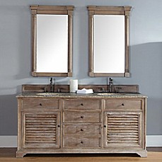 Image Of Savannah 72 Inch Driftwood Double Vanity Collection