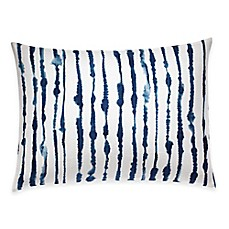 image of ED Ellen DeGeneres Bleu Breakfast Throw Pillow in Navy