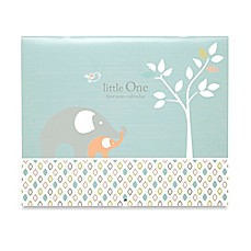 image of C.R. Gibson® Linen Tree Baby's First Year Calendar