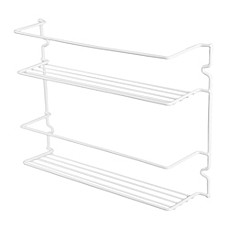 image of 2-Shelf Spice Rack in White