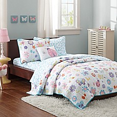 Image Of Mi Zone Kids Fluttering Farrah Coverlet Set