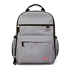image of SKIP*HOP® DUO Diaper Backpack in Heather Grey