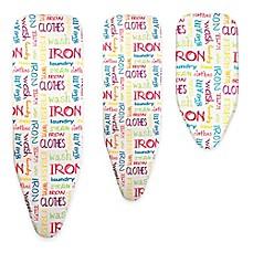 Image Of Bonita Bright Text Ironing Board Cover