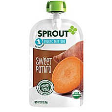 image of Sprout® 3.5 oz. Stage 1 Sweet Potato Organic Baby Food
