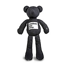 image of AMY COE by North American Bear Co. 20-Inch Coco Jersey Bear in Black
