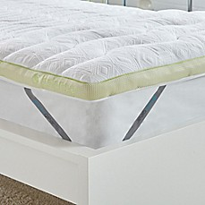 Image Of Bedgear Balance Boost 3 Inch Mattress Topper In White