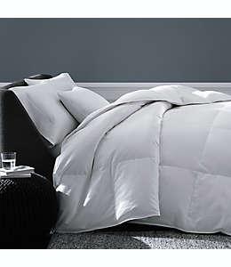 Edredón individual de algodón de plumón de ganso The Seasons Collection®, con diseño a rayas