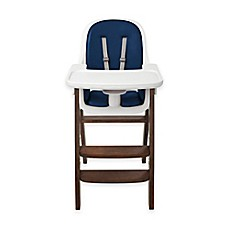 Oxo Tot Sprout High Chair In Navy Walnut