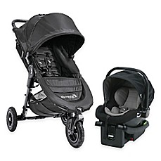 image of Baby Jogger® City Mini GT Travel System in Black