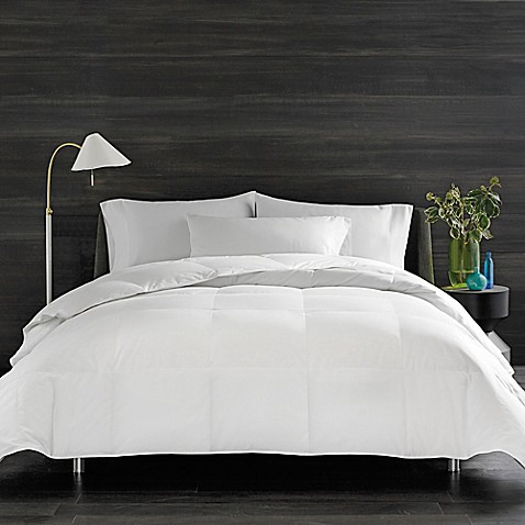 Real simple solid down alternative comforter bed bath - Home design down alternative comforter ...
