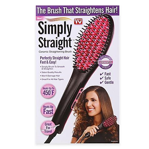 Simply Straight Trade Ceramic Straightening Brush