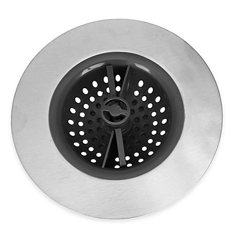 Sink things no clog sink strainer bed bath beyond for Kitchen drain clog