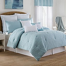 image of Coastal Life Luxe Sonoma Comforter Set in Sky