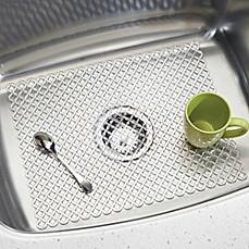 Kitchen sink accessories sink strainers cleaners bed bath beyond interdesign sink accessories workwithnaturefo