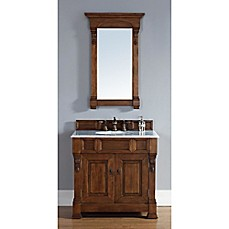 Image Of James Martin Furniture Brookfield 36 Inch Single Vanity In Country  Oak